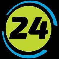 logo de la plataforma con criptomonedas coinbet24